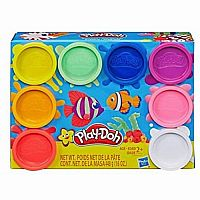 Play-Doh 8pk Mini - Rainbow